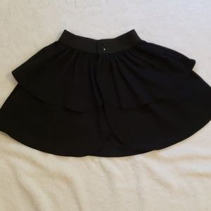Pinup Couture Laura Byrnes black twill under skirt